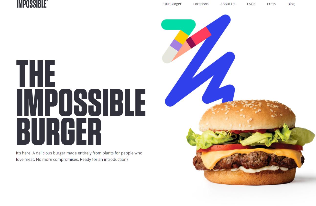 被比尔盖茨和谷歌看好的素食汉堡初创公司 Impossible Foods 完成新一轮融资1.14亿美元