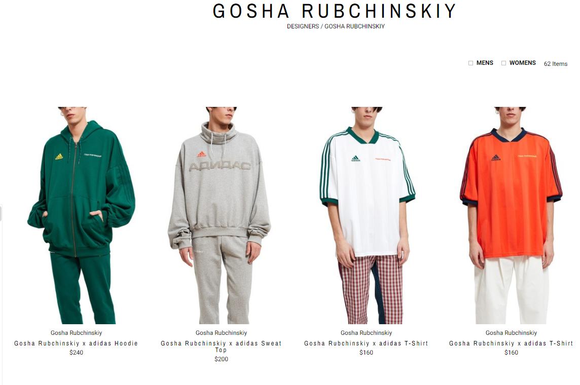 俄罗斯设计师 Gosha Rubchinskiy 同名品牌停止常规运营,将不再按季节发布新品