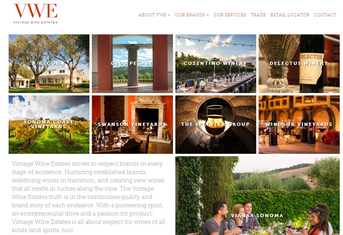 投资公司 AGR 收购葡萄酒公司 Vintage WineEstates 的少数股权