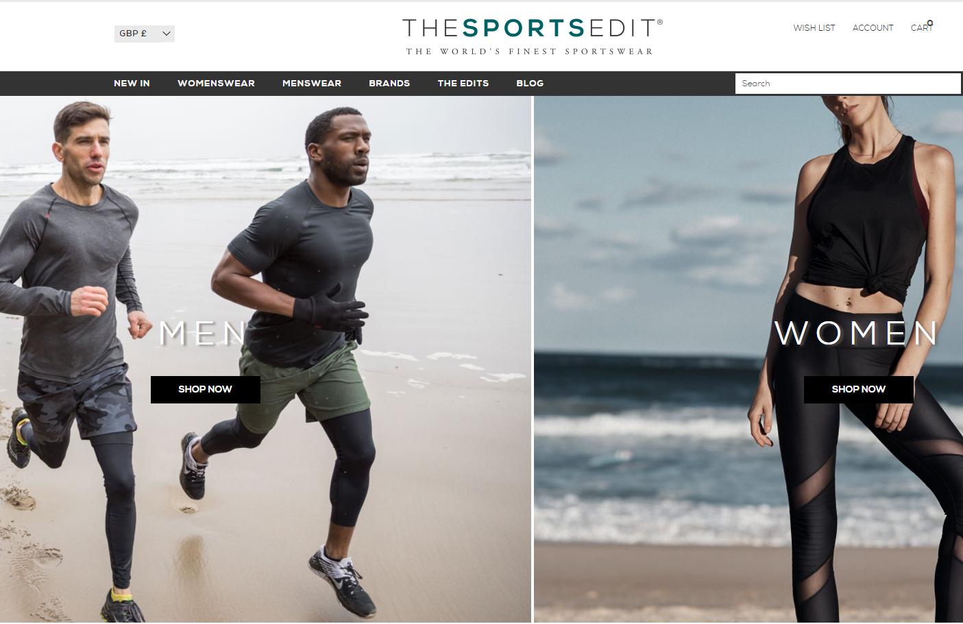 英国高档运动服装零售商 The Sports Edit 融资 100万英镑