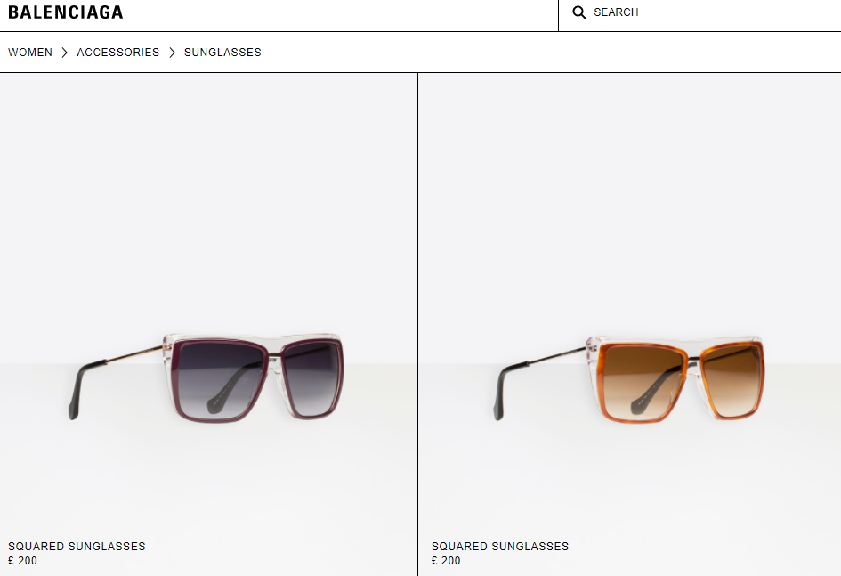Balenciaga终止第三方眼镜合作协议,母公司法国开云集团旗下品牌的眼镜业务全部收归自营