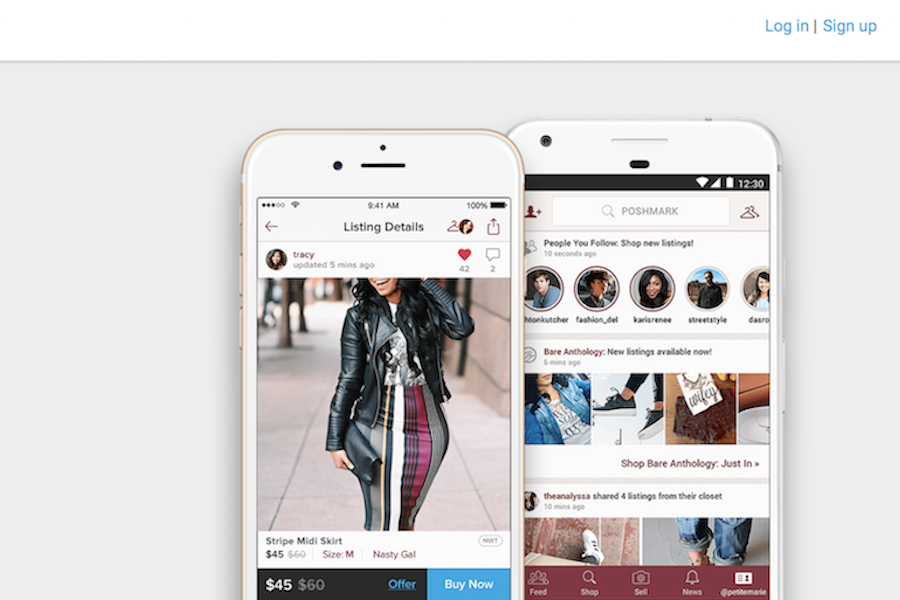 全球最大社交时尚电商平台 Poshmark 400万名卖家交易额累计突破10亿美元