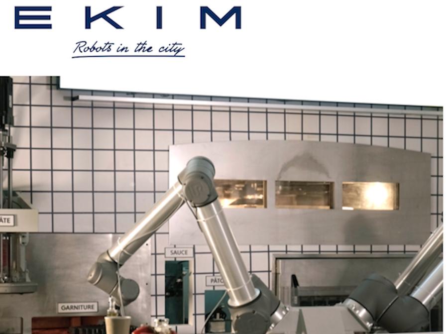 颠覆价值9000亿欧元的全球快餐产业!创造了首家机器人披萨餐厅的法国食品科技公司EKIM融资220万欧元