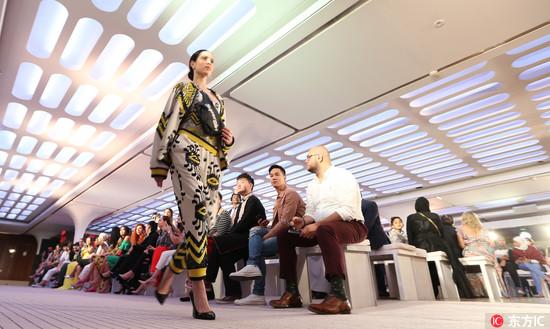 """致力于推广""""高定成衣"""",第六届阿拉伯时装周在迪拜开幕"""