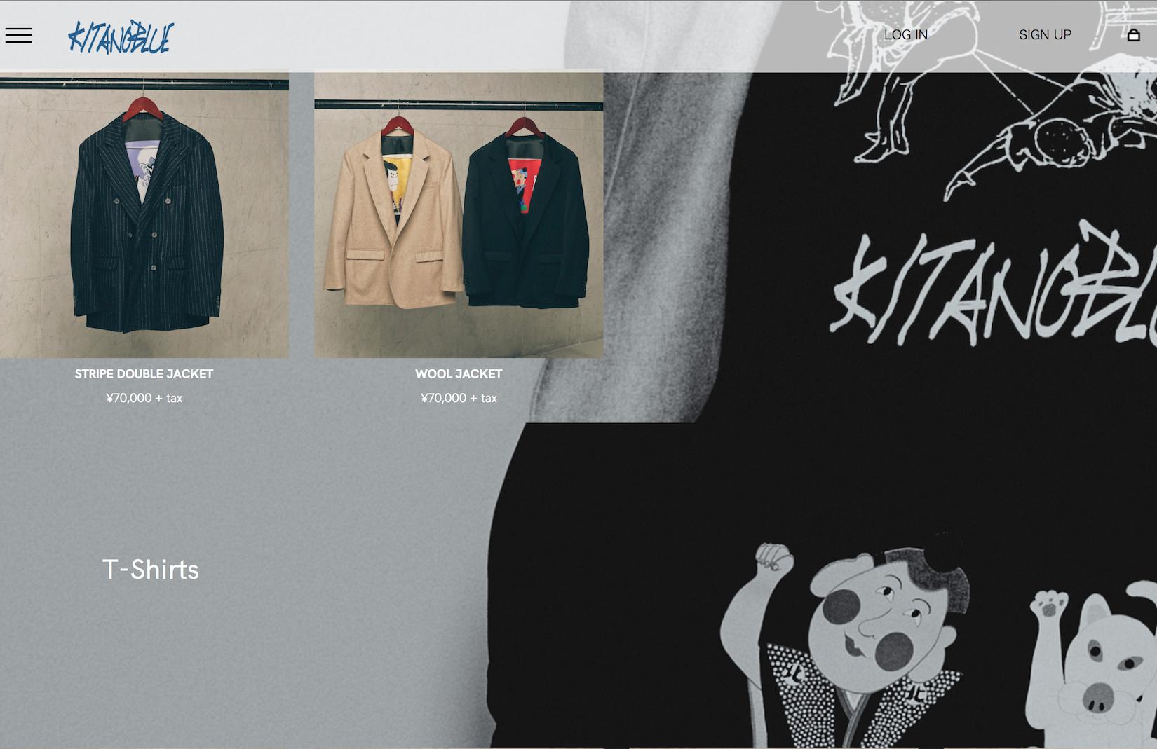 日本著名导演北野武推出个人时尚品牌 KITANOBLUE