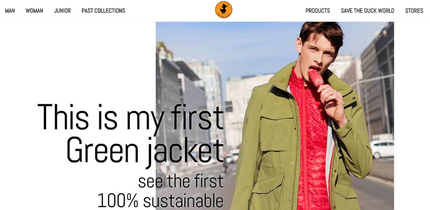 意大利羽绒品牌 Save the Duck 将推出完全不使用动物材质的服装系列
