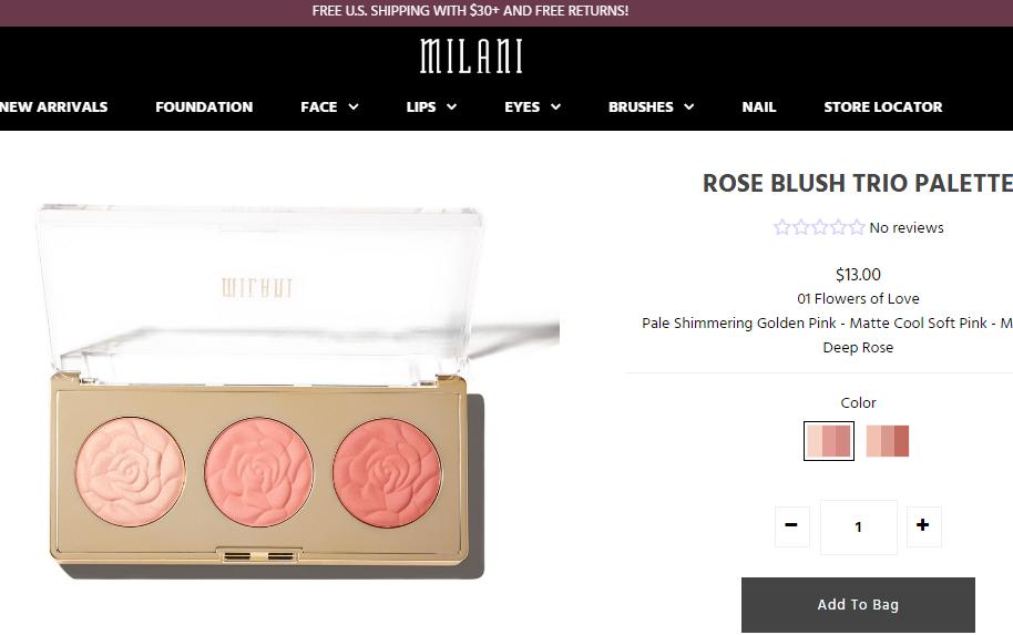 私募基金 Gryphon 完成首笔美妆投资:收购美国中档美妆企业 Milani的多数股权