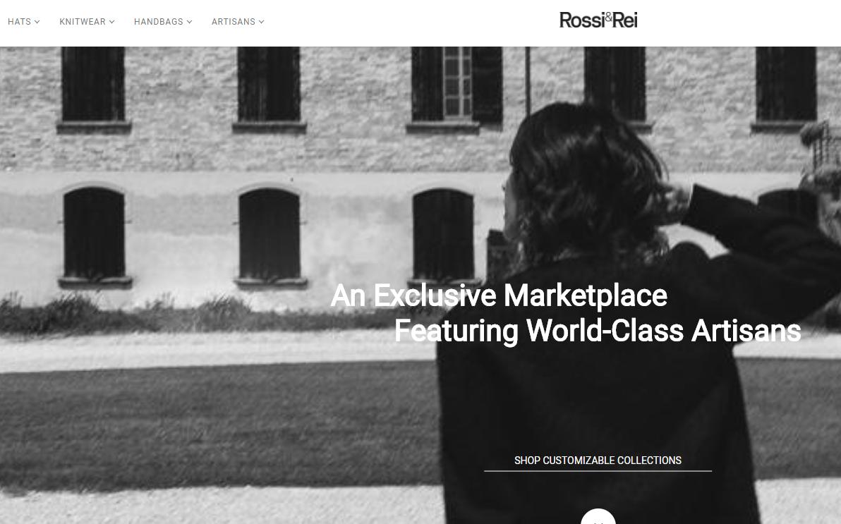 """打造奢侈品领域的""""Etsy"""",苹果公司前高管创立手工奢侈品线上平台 Rossi&Rei"""