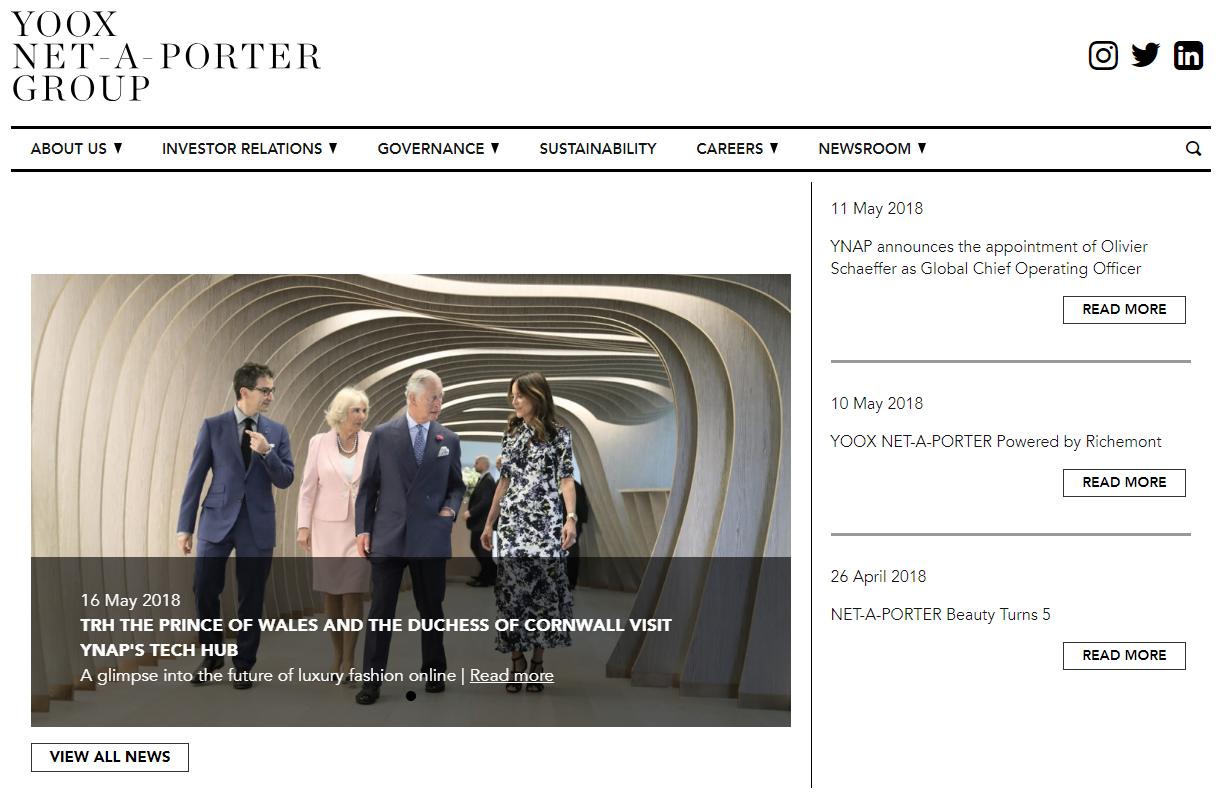 奢侈品电商Yoox Net-a-Porter将于6月20日正式私有化退市