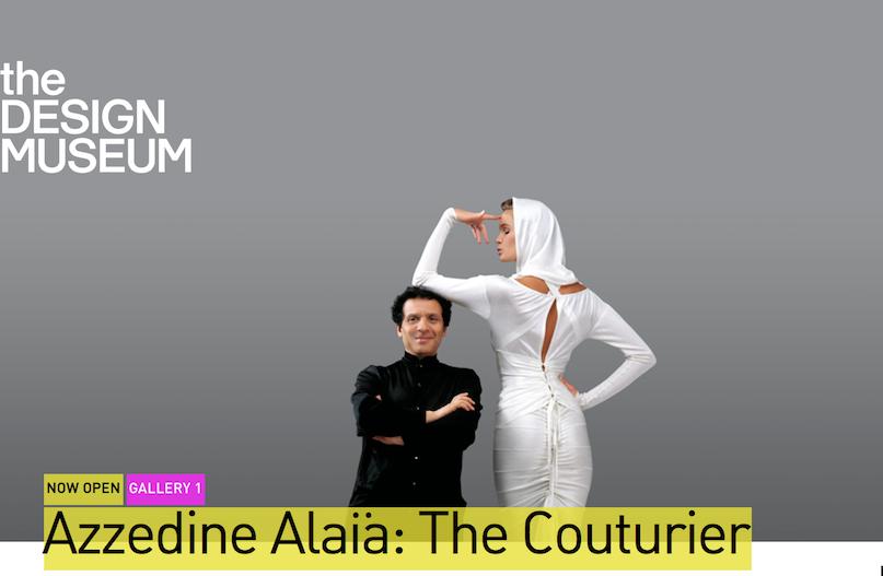 Azzedine Alaïa 生前亲手策展的作品展在伦敦设计博物馆开幕