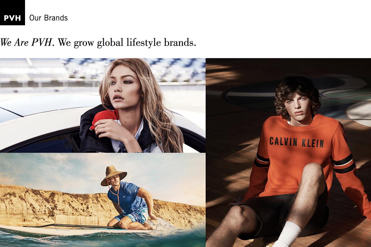 Calvin Klein 和 Tommy Hilfiger 销售双双大涨, PVH集团最新季报业绩出色,计划收购第三大支柱品牌