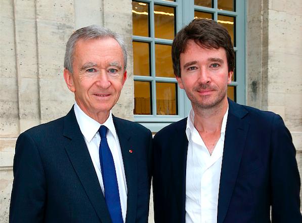 LVMH 集团大公子 Antoine Arnault 又被委以更多重任:兼任集团传讯和形象主管