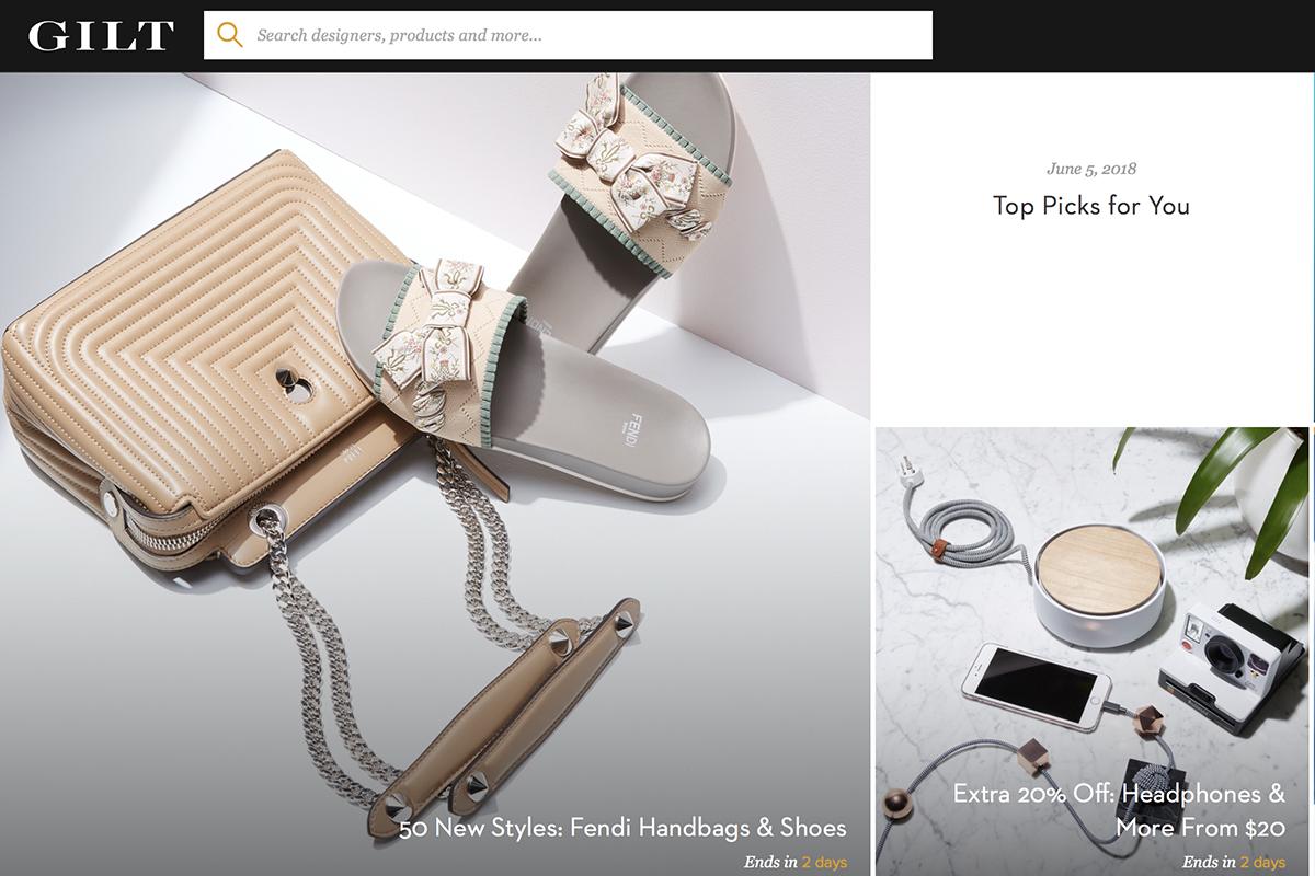 Saks母公司HBC将旗下奢侈品闪购网站 Gilt 出售给竞争对手 Rue La La