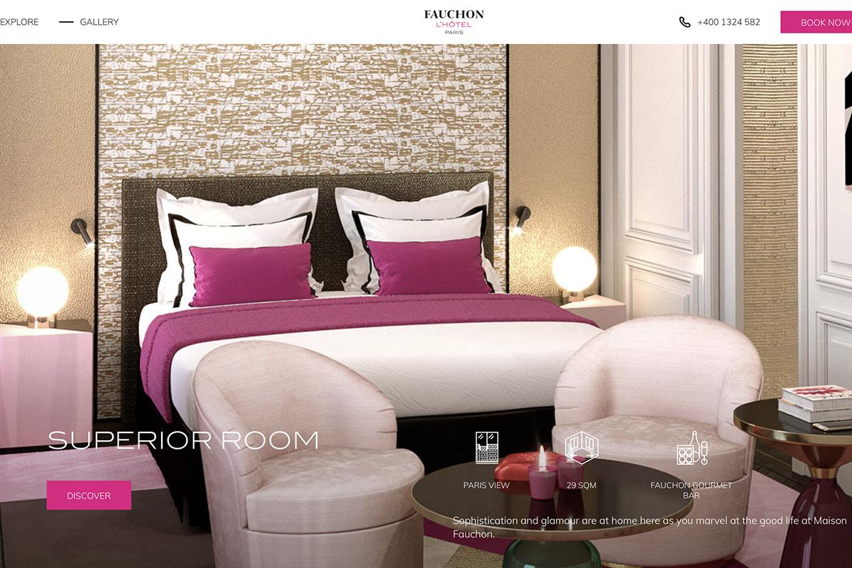 """法国奢华美食集团 Fauchon首家精品酒店9月在巴黎开张:用高级美食填满客房的""""迷你吧""""!"""