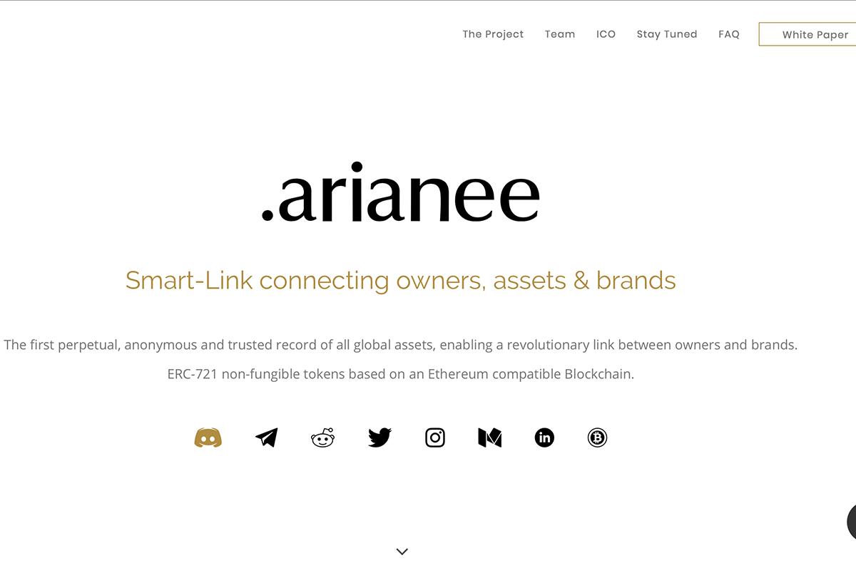 初创技术公司 Arianee 用区块链技术追踪奢侈品流转过程,致力于打击假冒伪劣产品
