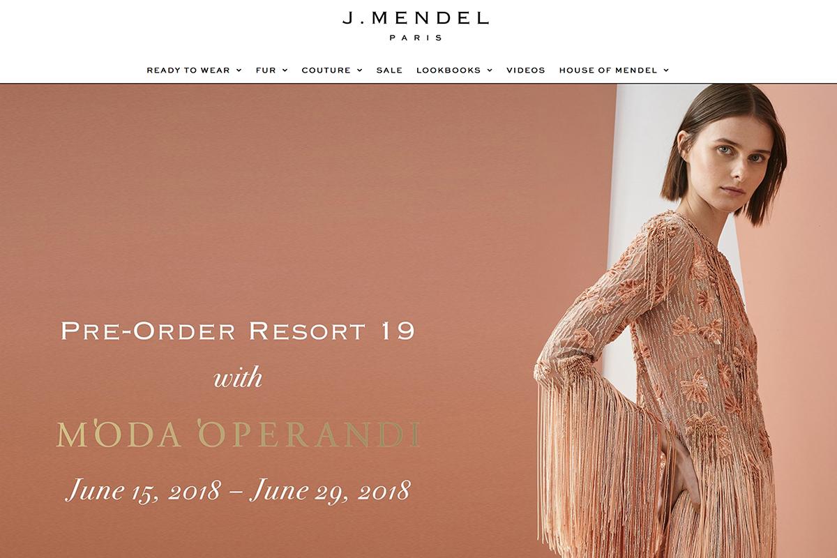 140多年历史的奢侈品牌 J.Mendel 申请破产保护,此前曾多次因拖欠款项被告上法庭