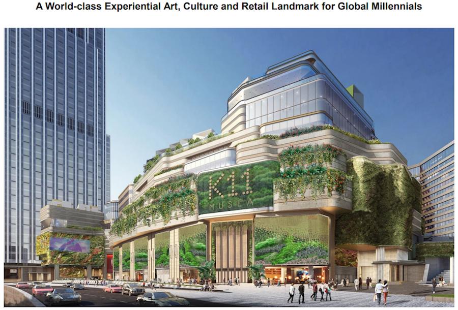 """K11 耗资26亿美元打造香港新地标:全新的艺术零售综合体 """"K11 MUSEA""""将于明年三季度落成"""