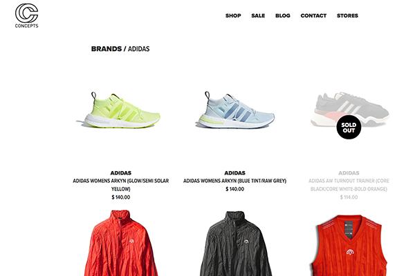 从 Adidas 与潮牌 Cncpts 的联名概念店,看品牌门店设计的三条新法则