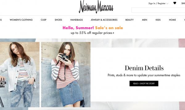 新战略见效,美国奢侈品百货 Neiman Marcus最新季度净亏损收窄,线上销售大涨17%