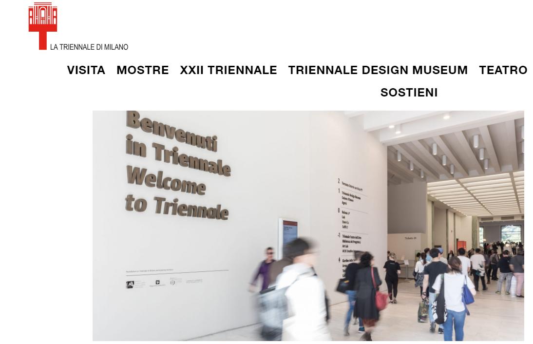 米兰三年展设计博物馆将进行改建,新增意大利时尚与设计展览专区