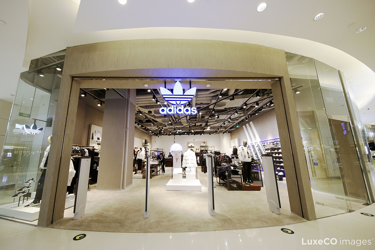 adidas 大举投资中国市场,今年计划再开1000家门店