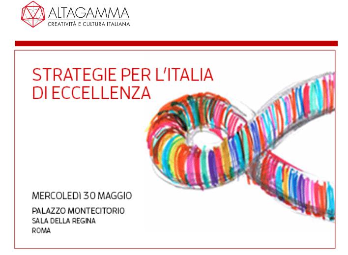 意大利奢侈品贸易协会 Altagamma 发布新书阐述意大利奢侈品市场发展战略规划
