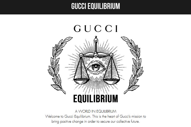 Gucci 推出专用门户网站 Equilibrium,传播社会责任和环境保护信息