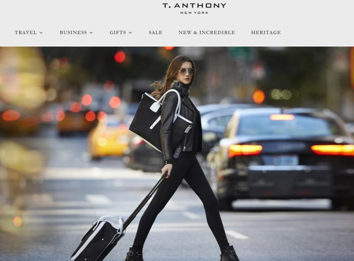 美国地产大亨Charles Cohen 再度投资时尚,收购美国高端箱包品牌 T. Anthony