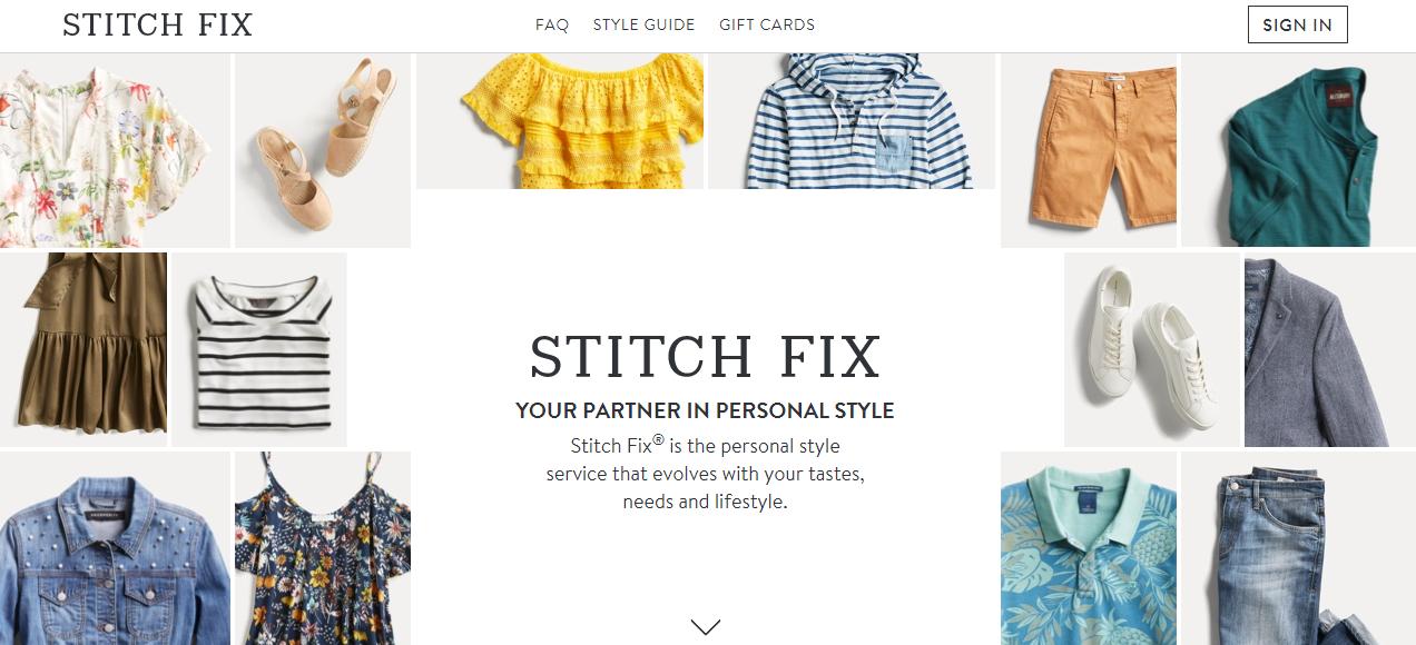 美国按月订购时尚电商 Stitch Fix 创始人:投资人对公司期望值过高导致股价不振