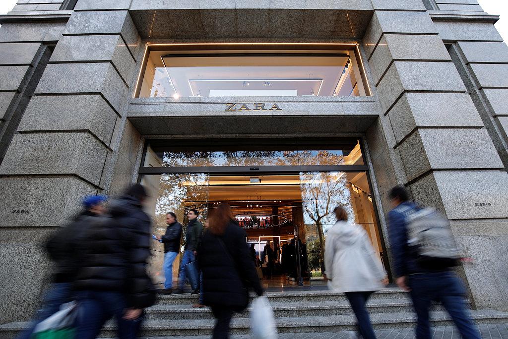 """和纯电商""""拼速度""""!Zara母公司Inditex加大投资实体店智能技术"""