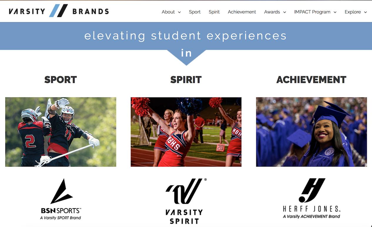 贝恩资本收购美国拉拉队制服和校庆用品生产商 Varsity Brands,估值或达25亿美元