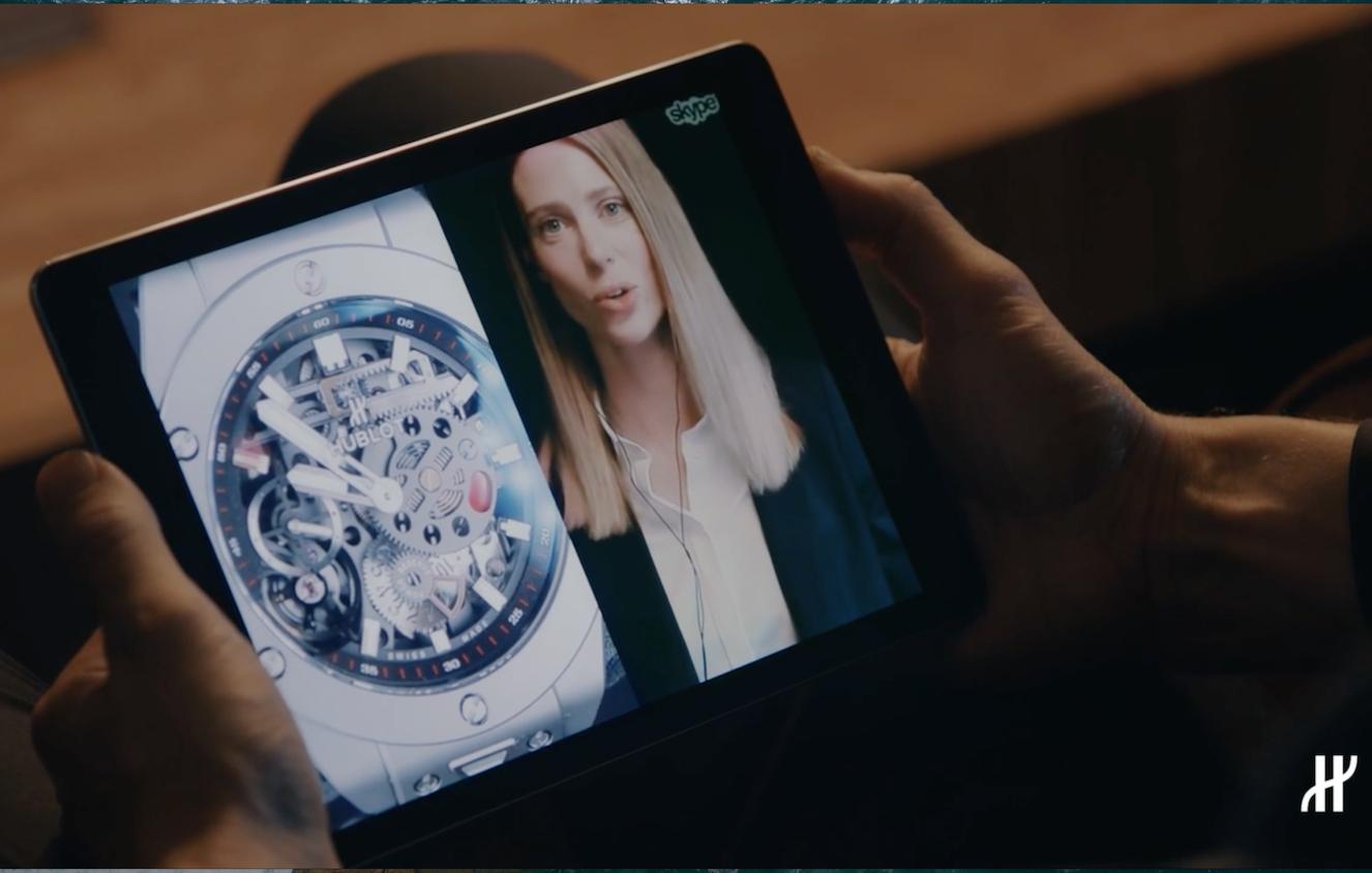 LVMH旗下瑞士奢侈手表品牌 Hublot 推出全新数字旗舰店:把实体门店的体验搬到线上
