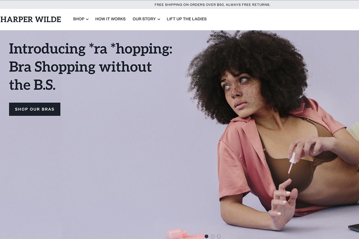 沃顿商学院毕业生创办的互联网内衣品牌 Harper Wilde 完成200万美元种子轮融资