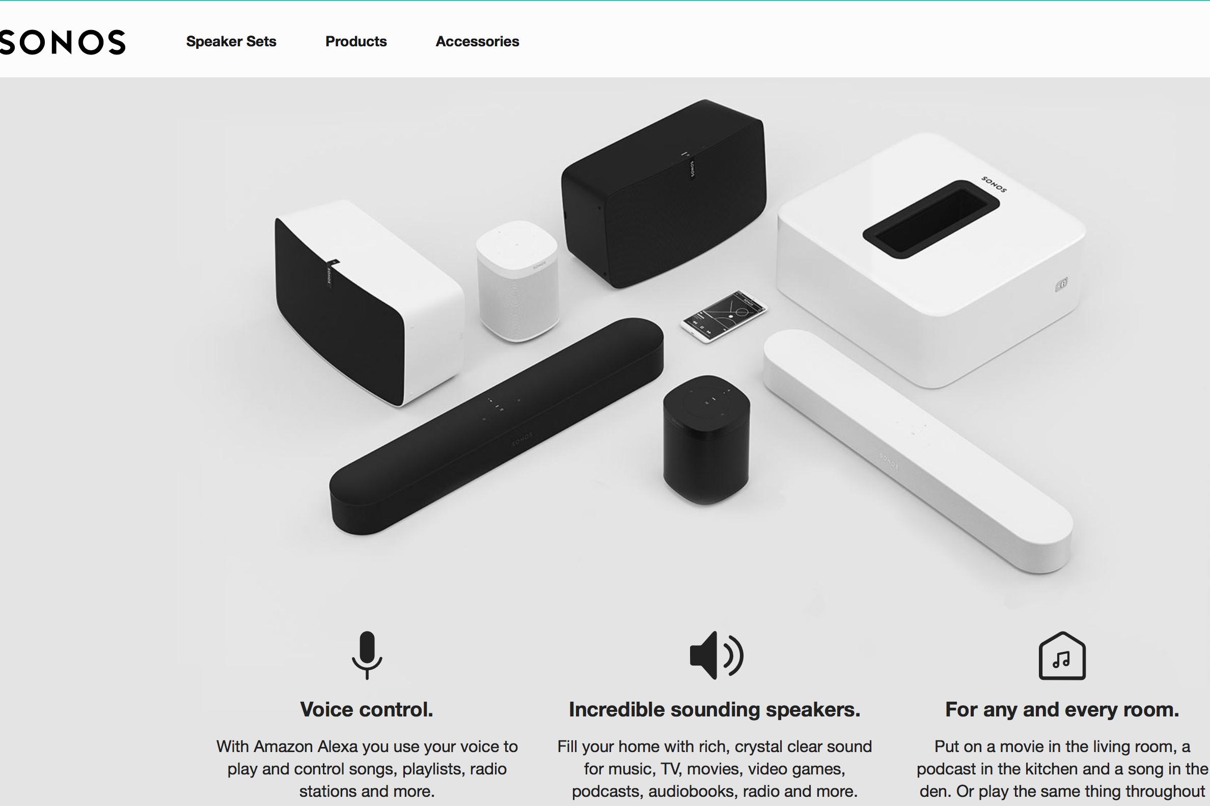 销售额近10亿美元的无线音箱制造商 Sonos 提交 IPO 申请,估值或高达30亿美元