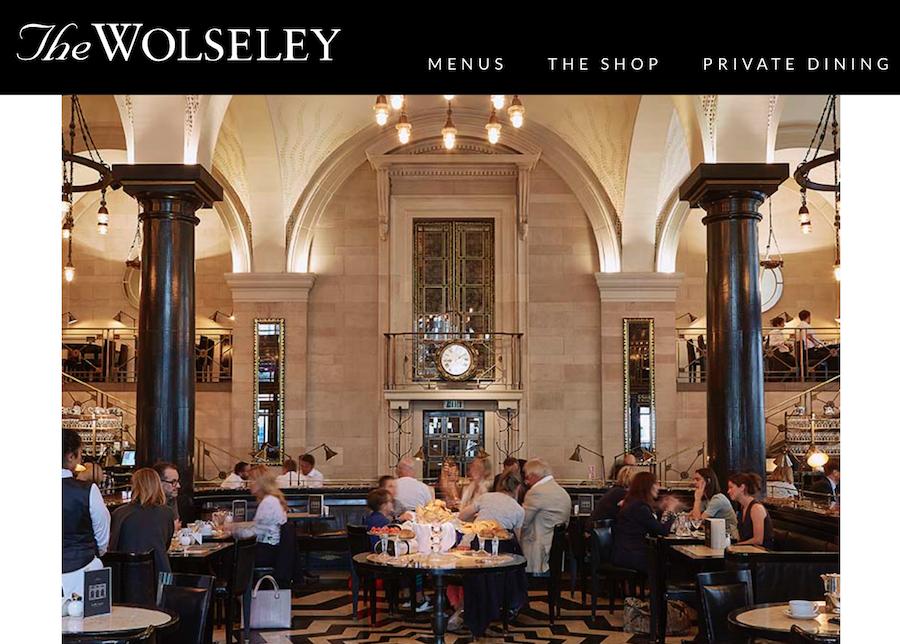 精致的购物体验需要时尚的餐饮服务:英国比斯特购物村引入伦敦知名餐厅 Café Wolseley