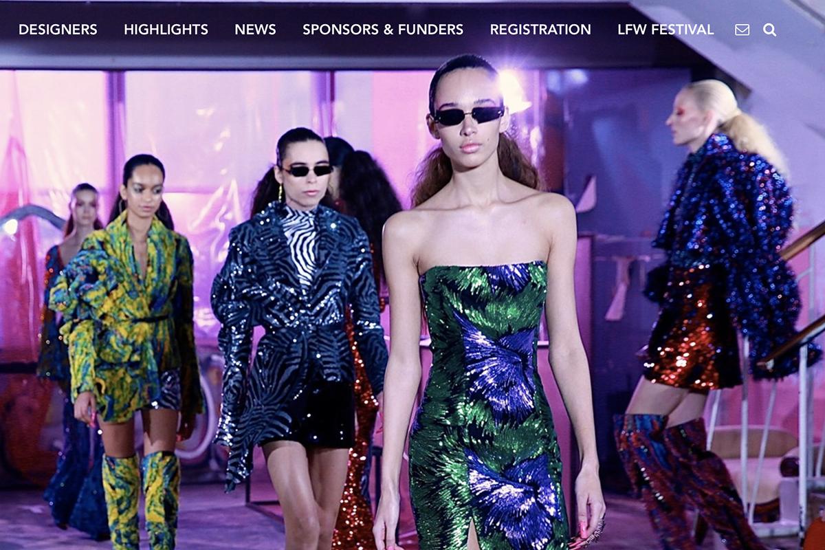 2019春夏伦敦时装周发布官方日程,六位华人设计师参与