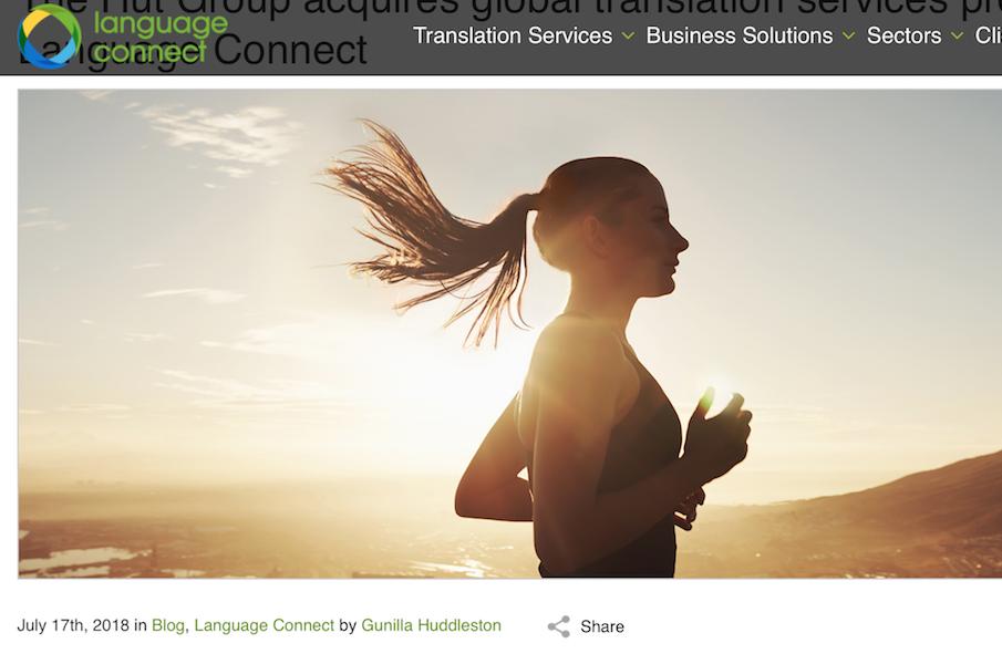 英国美容产品电商 The Hut Group 收购语言翻译和本地化服务公司 Language Connect