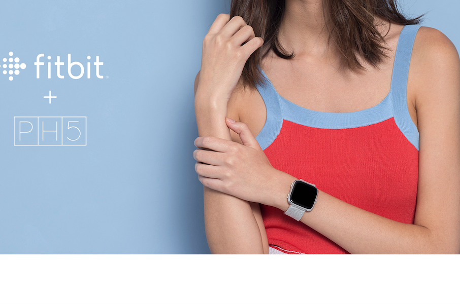 Fitbit 邀纽约创新女装品牌 PH5为其设计新款智能手表表带