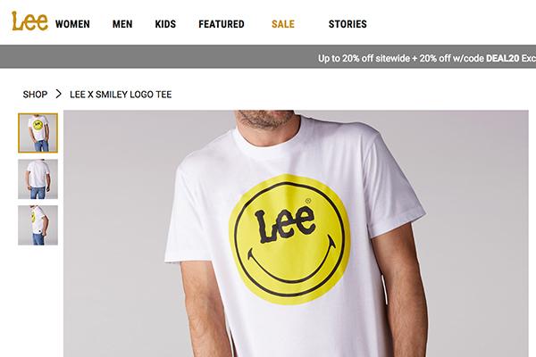 老IP发新芽!黄色笑脸品牌授权公司The Smiley Company联手牛仔老牌 Lee 大获成功