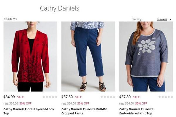 美国快时尚公司 Jump Design Group 收购老牌休闲装公司 Cathy Daniels