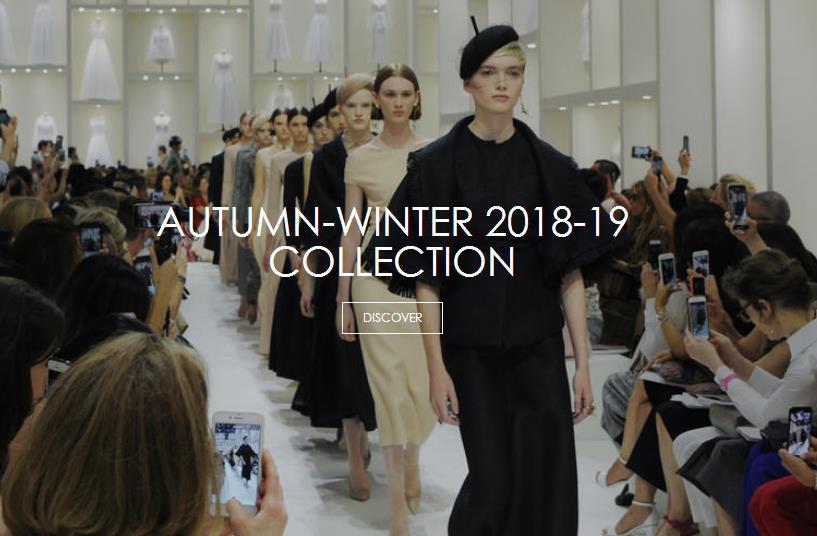 Dior设计总监语出惊人:高级定制不需要社交媒体的点赞!