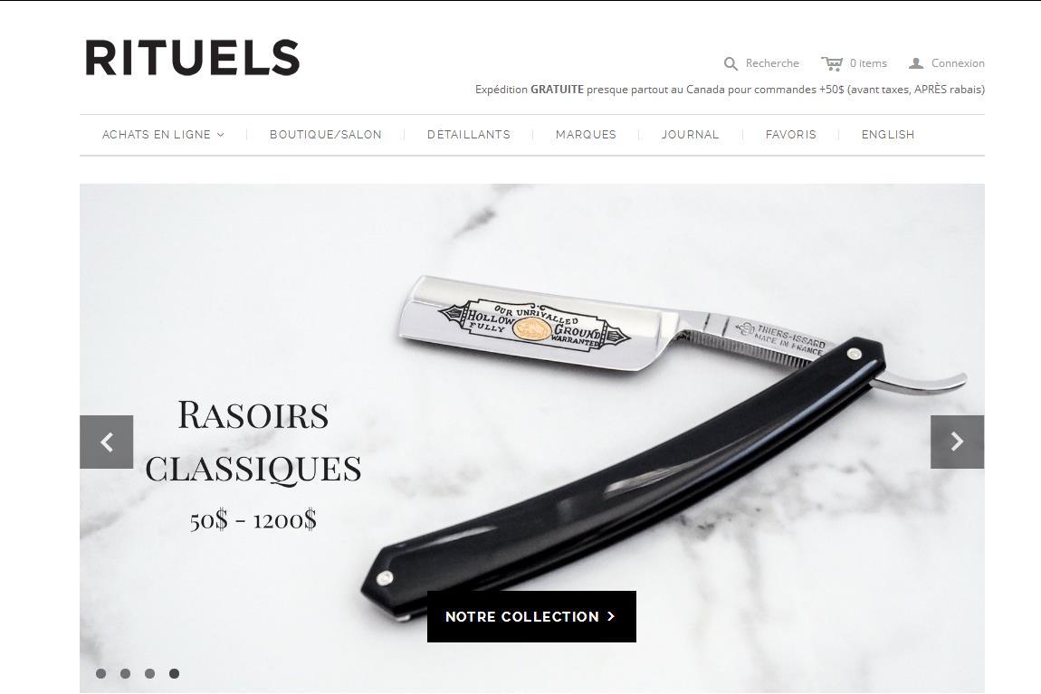 加拿大百年时尚零售商 La Maison Simons 收购互联网高档男士剃须护理品牌 Rituels