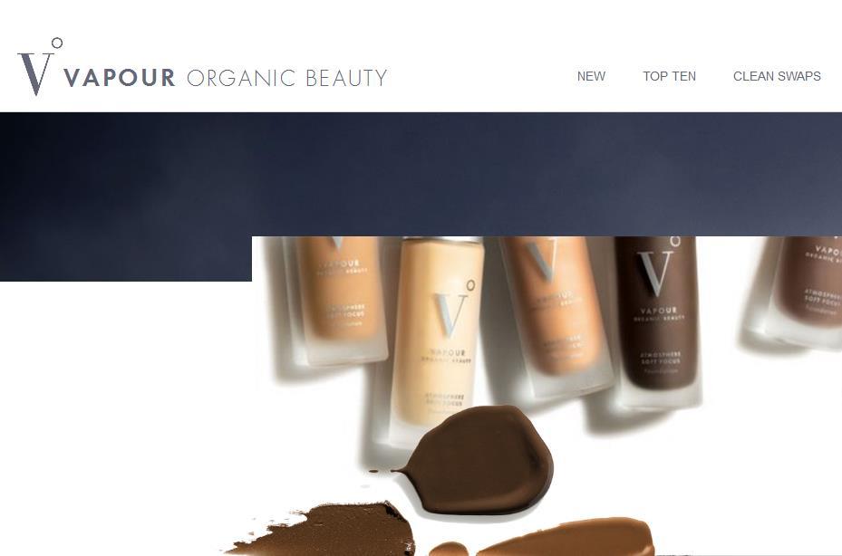 """让顾客""""先试后买"""",有机美妆品牌 Vapour Organic Beauty 获私募基金Ancora 投资"""