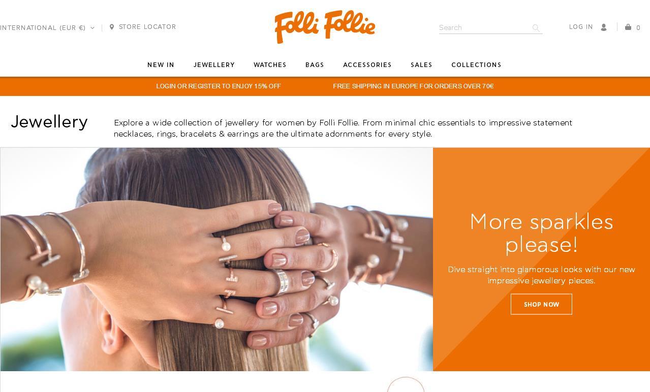 """深陷财务风波的希腊珠宝品牌 Folli Follie 获得法庭资产保护令,以""""保障顺利进行重组"""""""