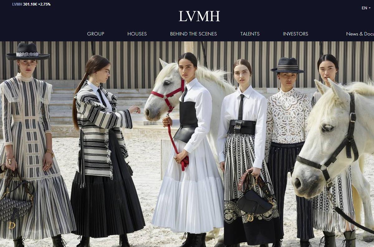 LVMH 集团公布2018年财年上半年数据:净利润同比增长41%,中国市场依旧稳健
