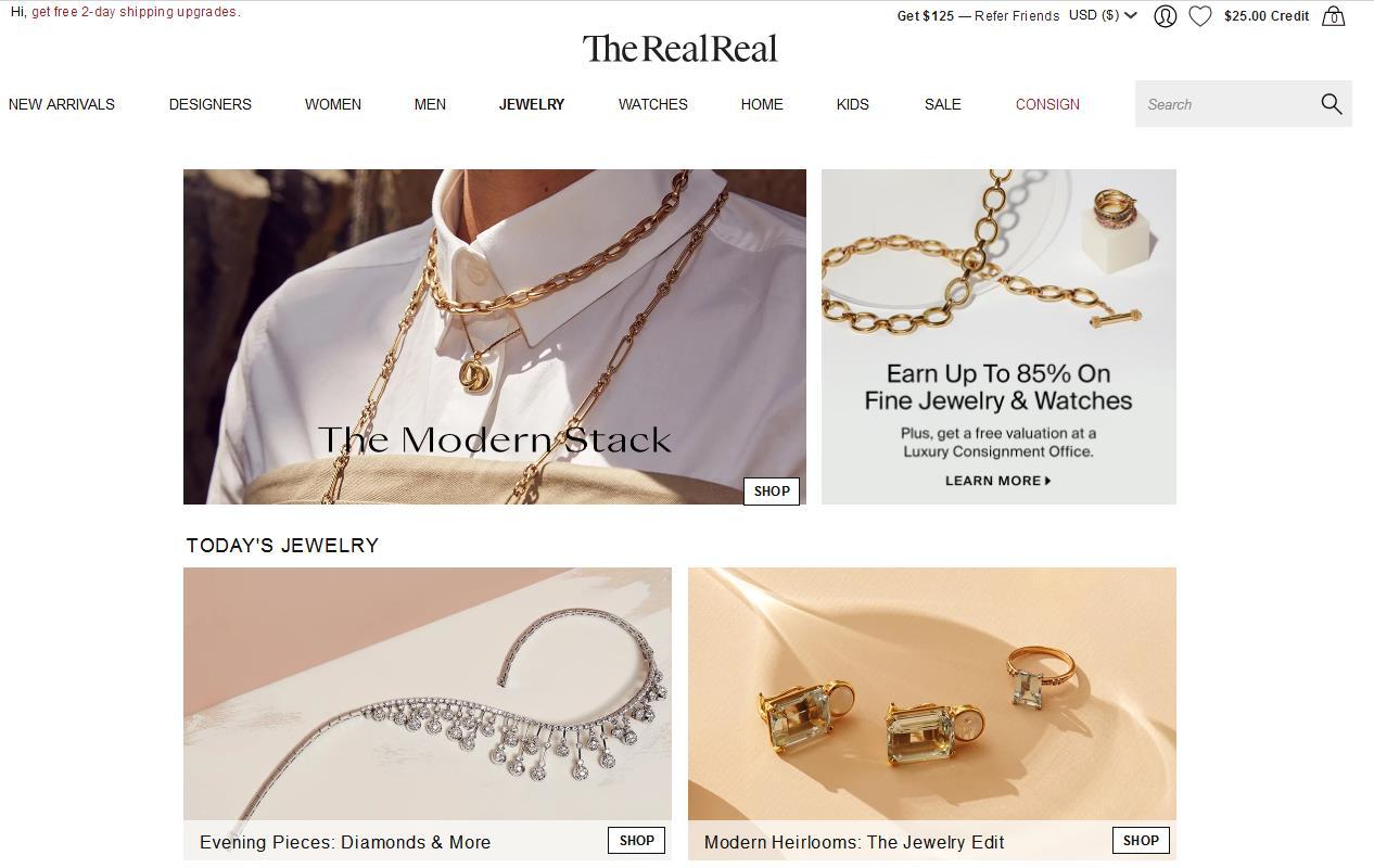 美国二手奢侈品寄售网站 The RealReal 完成 1.15亿美元 G 轮融资,将增设实体门店