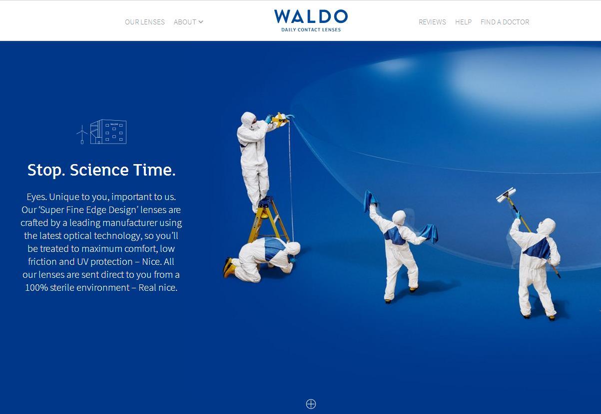 以用户为中心,提供高性价比产品:英国隐形眼镜互联网品牌 Waldo 完成500万美元A轮融资