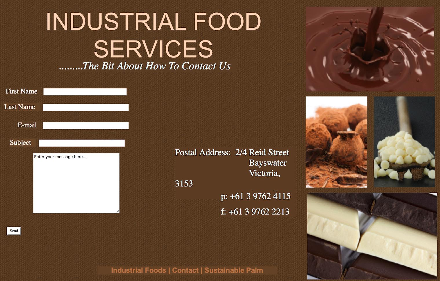 日本食品原料生产商不二制油收购澳洲巧克力和可可生产商 Industrial Food Service