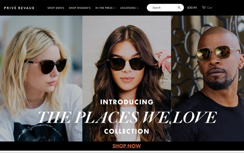 成立一年就卖出100多万副太阳镜!三位明星加持的轻奢眼镜品牌 Privé Revaux获私募基金TSG投资