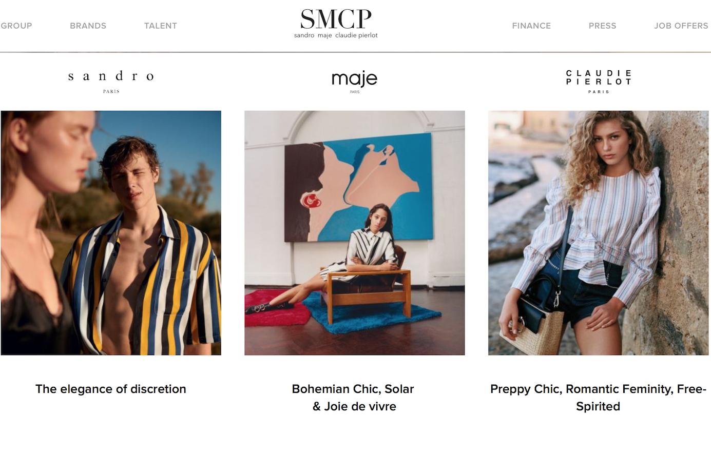 山东如意控股的法国时尚集团SMCP 2018上半年财报:中国市场推动亚太区第二季度增长48%